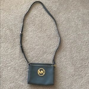 Michael kors Gray crossbody